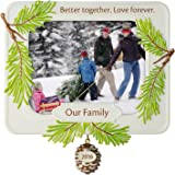 "Hallmark Keepsake 2016 ""Our Family,  Better Together"" Dated Picture Frame Holiday Ornament"