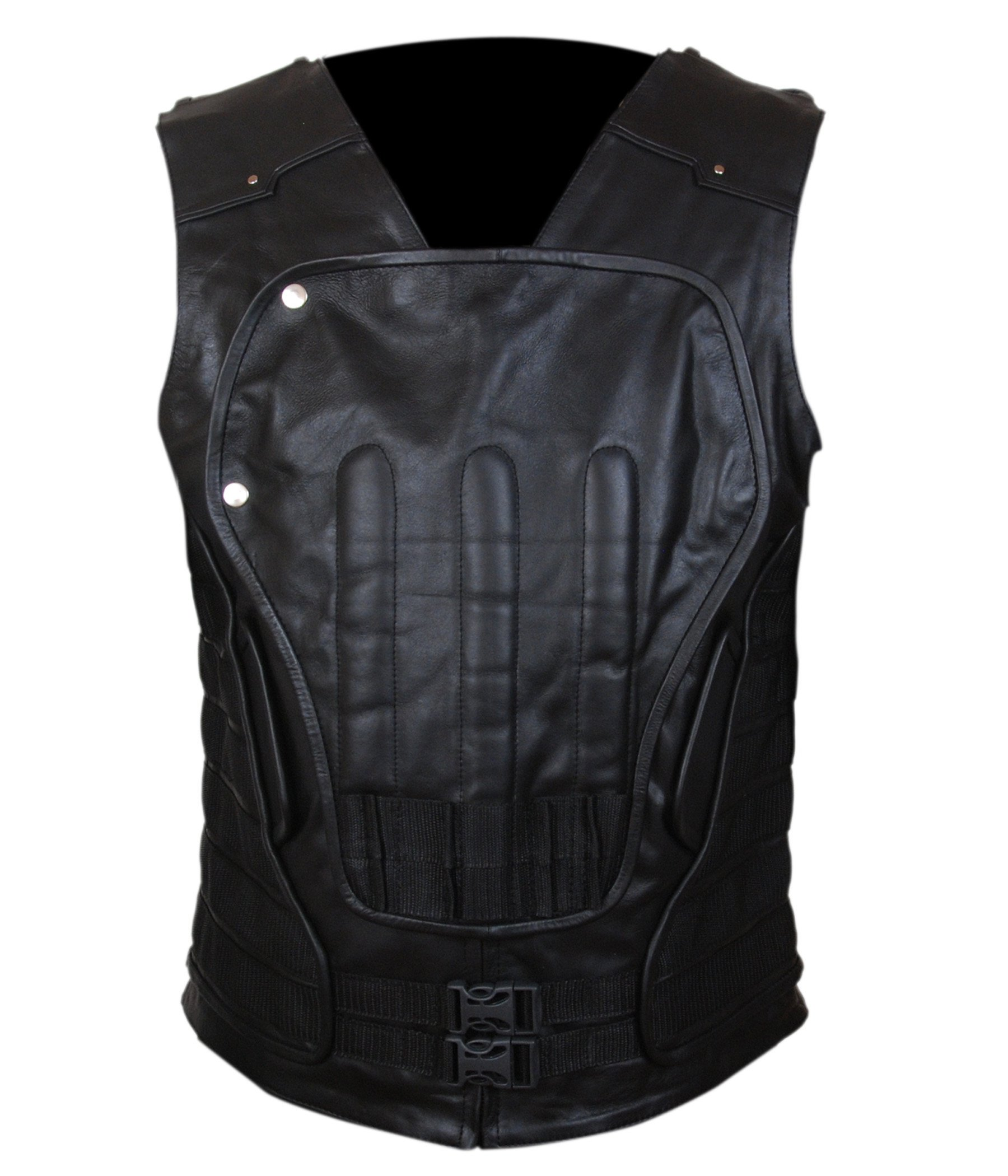 F&H Boy's Punisher War Zone Frank Castle Ray Stevenson Vest L Black by Flesh & Hide