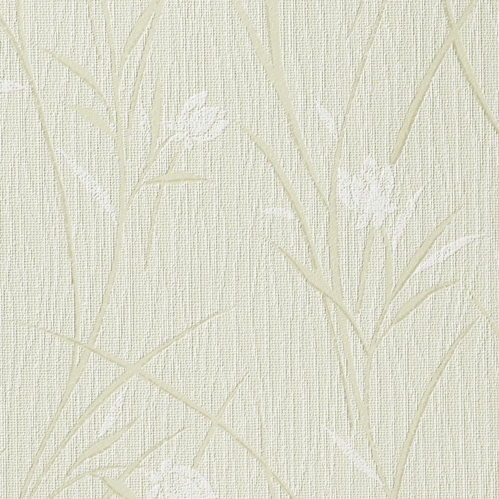 ルノン 壁紙23m 和 花柄 グリーン 空気を洗う壁紙 RH-9214 B01HU2PXI4 23m|グリーン