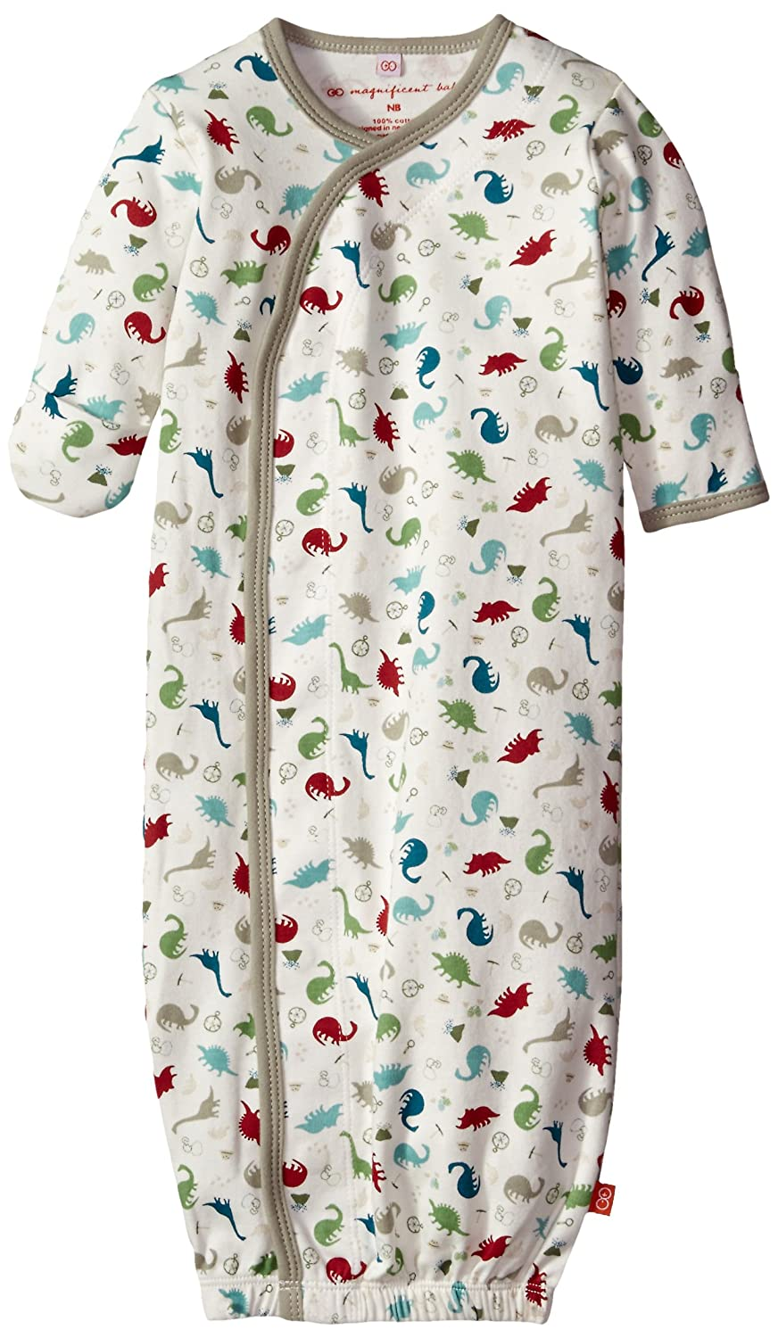 Magnificent Baby Baby-Boys Dino Expedition Gown Dino Explorer New Born 1181-B