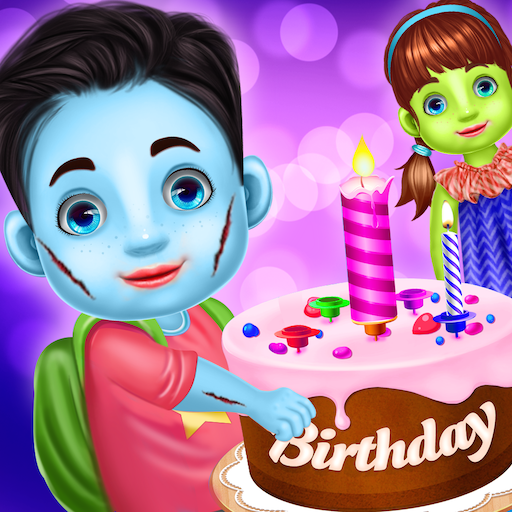 Halloween Birthday Party Celebration (Halloween Cake Games)