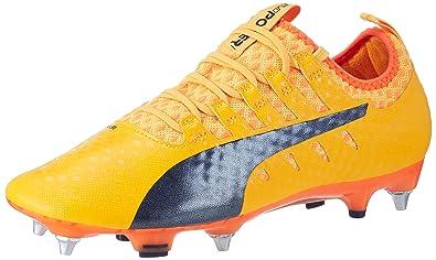 16c0e0df48 Puma Evopower Vigor 1 MX SG, Chaussures de Football Homme, (Ultra Yellow-