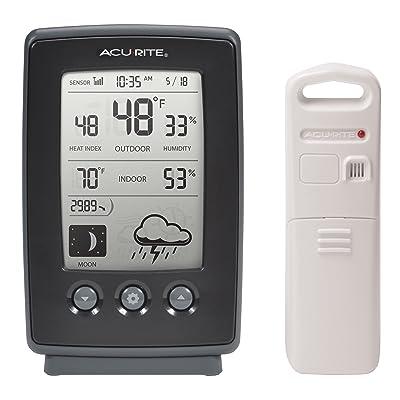 AcuRite 00829Digital Station météo avec prévisions/température/horloge/phases de la lune