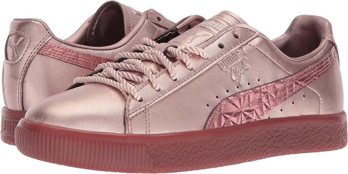 PUMA Women s Clyde Tott FM Rose Gold 10.5 B US  Amazon.co.uk  Shoes ... 95c5595a6