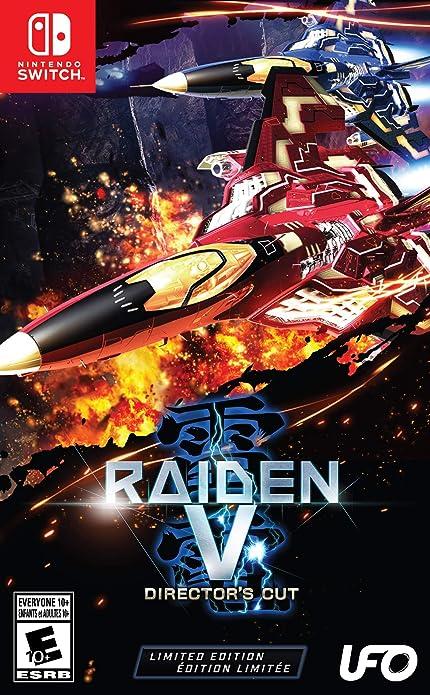 Amazon.com: Raiden V: Directors Cut Limited Edition ...