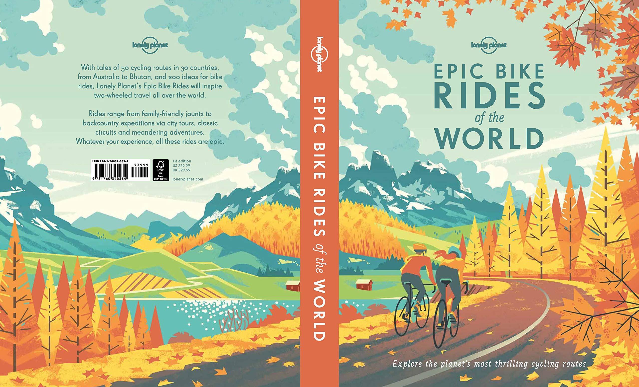 Epic Bike Rides of the World Lonely Planet Idioma Inglés: Amazon ...