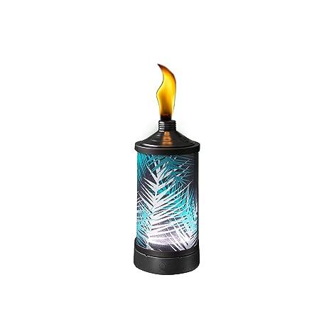 TIKI Brand Glowing Table Torch   Polynesian Palm