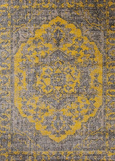 Persian-Rugs 674 Oriental Gold 8×10 Area Rug Carpet Large New