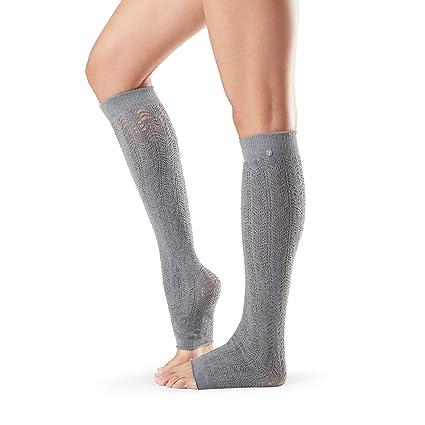 Toesox Ava - Calentadores de pierna alta para danza, yoga y ...