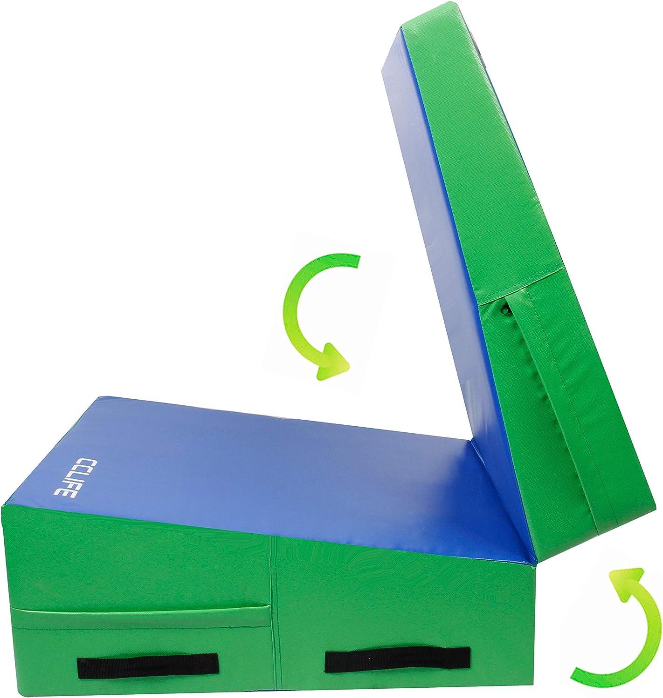 CCLIFE 2in1 Turnmatte Jump-Box Keil-Matte