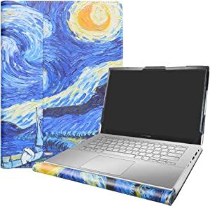 "Alapmk Protective Case Cover for 14"" ASUS ZenBook 14 UX431FA/VivoBook X420UA/Vivobook S14 S432FA & Lenovo IdeaPad 5 14 14IIL05 & Dell Latitude 7410 Chromebook Enterprise Laptop,Starry Night"