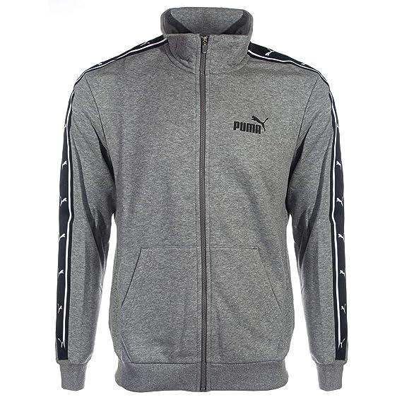 99592269624b Puma Heritage Tape Full Zip Mens Retro Sports Fashion Track Top Jacket   Amazon.co.uk  Clothing