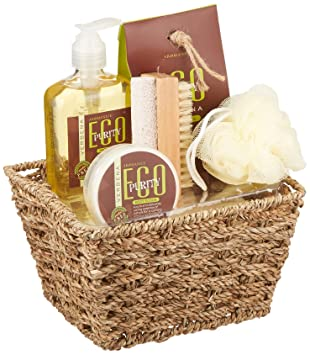 koehler home decor holiday christmas seasonal thanksgiving eco purity verbena bath spa gift set - Koehler Home Decor