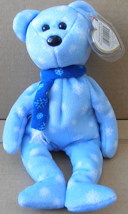 55795e54fa9 Image Unavailable. Image not available for. Color  TY Beanie Babies 1999  Holiday Teddy ...