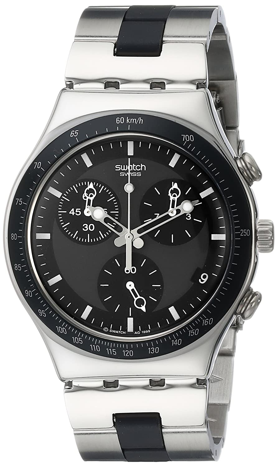 Swatch Ironywindfall Homme 39mm Chronographe Date Minéral Verre Montre YCS410GX: Swatch: Amazon.fr: Montres