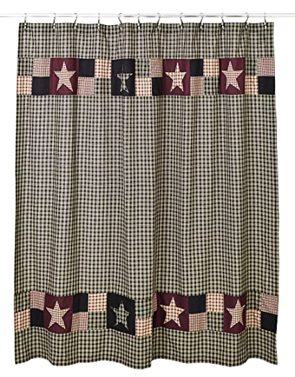 Olivias Heartland Plum Creek Shower Curtain
