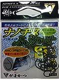 がまかつ(Gamakatsu) バラ ナノチヌフカセ フック (ナノスムースコート) 3 釣り針