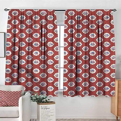 Amazon.com: PriceTextile Shabby Chic,Kitchen Curtains ...