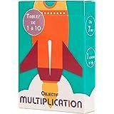 OBJECTIF MULTIPLICATION - Jeu éducatif pour apprendre et réviser les tables de multiplication - 1 joueur et plus