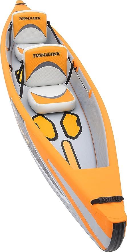 AQUAMARINA Kayak Hinchable Alta Presion Tomahawk 2 Plazas 13 ...