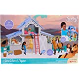 Spirit 39061 Riding-Free Barn Playset, Multicolor