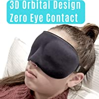 3D Sleep Eye Mask | 100% Premium Memory Foam Sleeping Mask, Blindfold, Sleeping Aid For A Deeper, Relaxing & More Restful Nights Sleep, Blindfold, Eyemask For Men and Woman