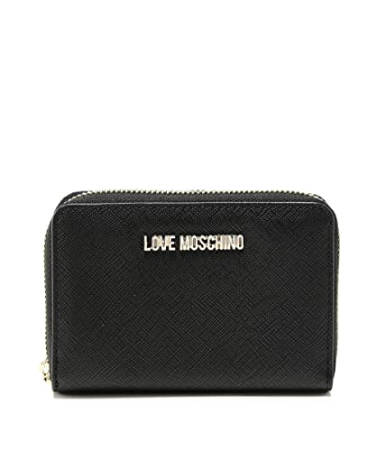 684e88a9dcc9 Moschino Love Moschino Women s Small Zip Around Wallet One Size Black