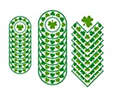 St Patrick's Day Lucky Shamrocks Party Supplies Bundle: Serves 16 Guests