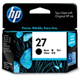 HP 27 Ink Cartridge, Black