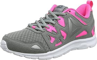 Reebok Run Supreme 3.0, Zapatillas de Running para Mujer, Gris Flint Grey Solar Pink Pewter White, 37 EU: Amazon.es: Zapatos y complementos