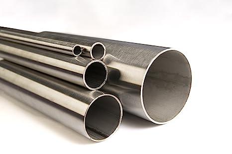 Tubo de acero inoxidable, diámetro de 12 x 1,5 mm hasta 114 ...