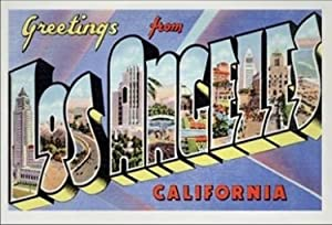 California USA United States Fridge Refrigerator Magnet (1 Piece, Style: Los Angeles #K1)