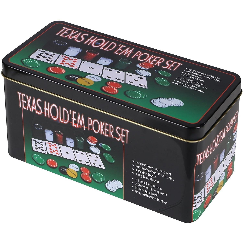 Sohler By Eurotrade W 2003847 Texas Holdem Set de Regalo