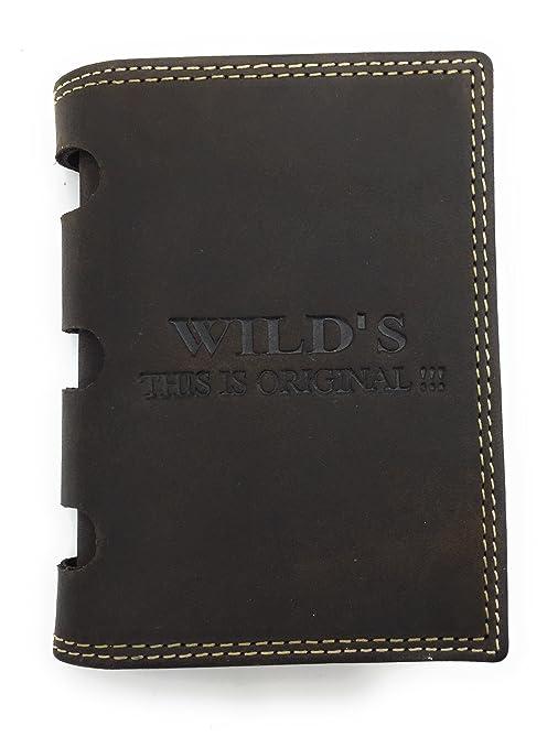 WILD`S THIS IS ORIGINAL!!! - Cartera para hombre marrón marrón