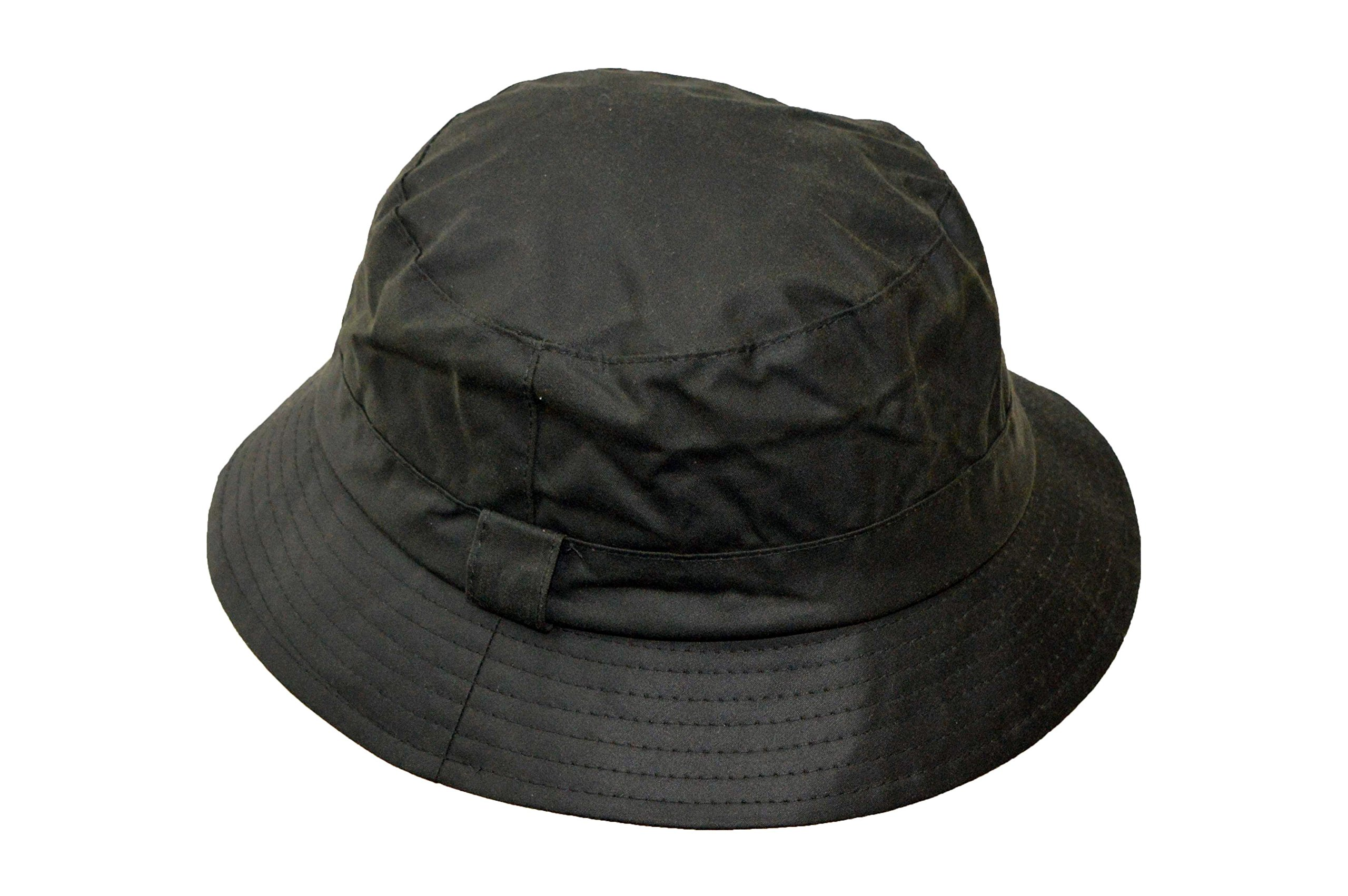 69b94e4f8802b Walker   Hawkes - Uni-Sex Wax Bush Bucket Fishing Country Hat - Olive  product