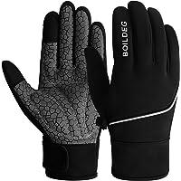 BOILDEG Fietshandschoenen Outdoor Winddicht Touchscreen Anti-slip Schokabsorberende Pad Fietshandschoenen voor Mannen…