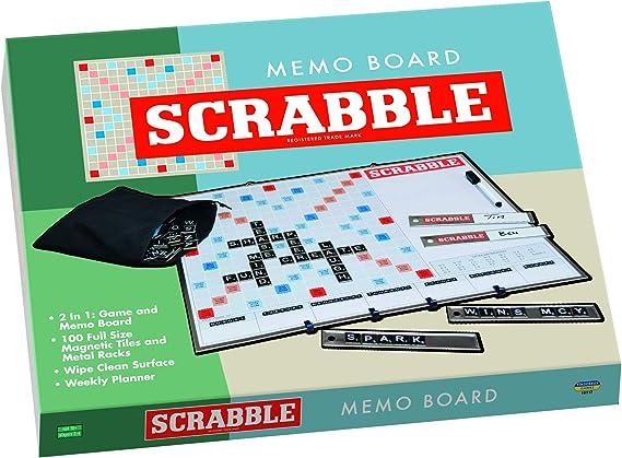 Scrabble 6525 - Tablón de Notas, Color Verde: Amazon.es: Juguetes y juegos
