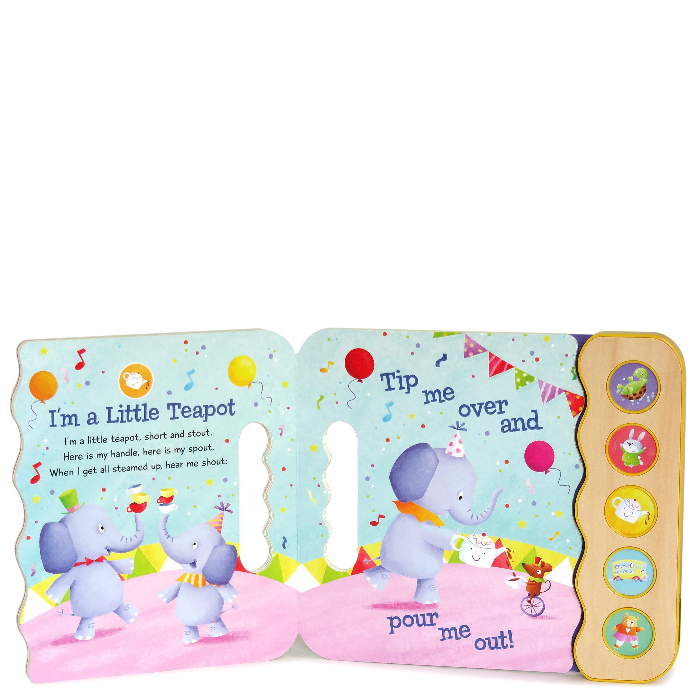 Wiggle, Jiggle, Sing & Giggle: Children's Sound Book (5 Button Sound) by Cottage Door Press (Image #3)