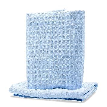Adams Polishes Toallas de lavado sin agua de microfibra 2 paquetes