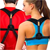 Tresalto Women Back Posture Corrector Brace with Effective, Orthopedic, Comfortable, Discreet Under Clothes Design