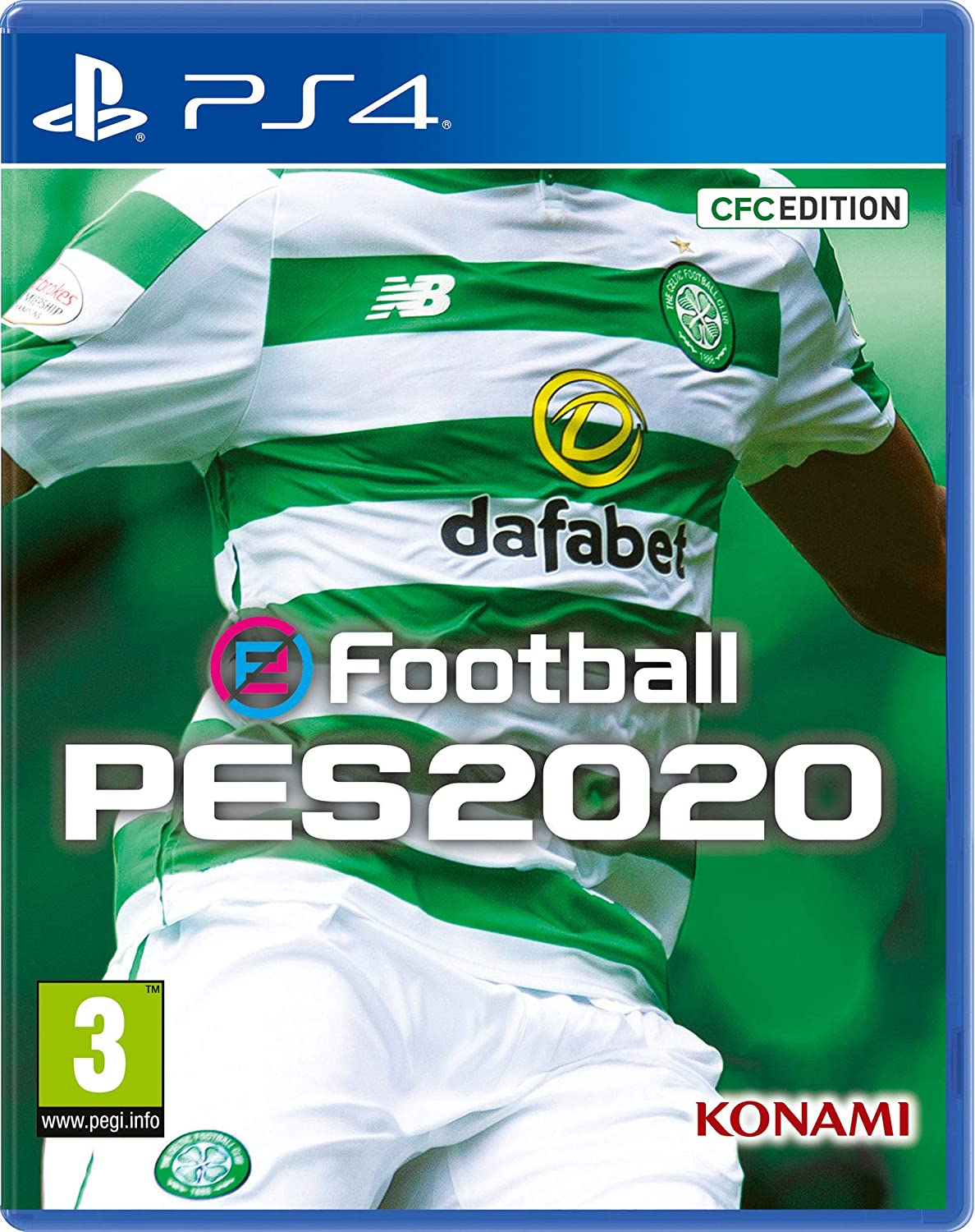 Efootball PES 2020 Celtic FC Edition - PlayStation 4 [Importación ...