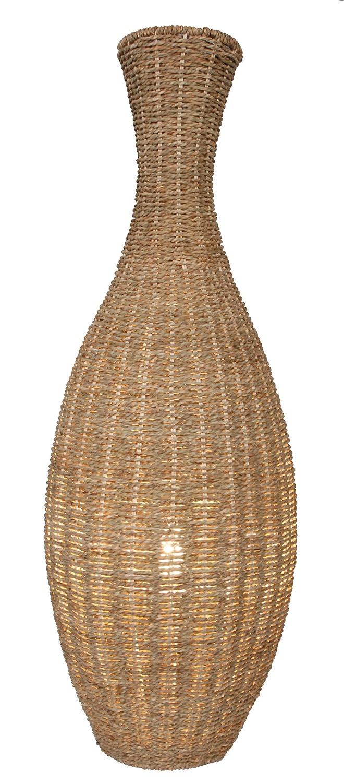 Naeve Leuchten 235127 Seagrass Wicker Floor Lamp 88 X 30 Cm: Amazon.co.uk:  Lighting