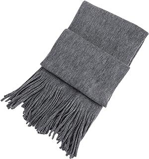 Men Women Super Thick Warm Winter Snow Scarves Cashmere Soft Scarves Large Pashmina Wraps