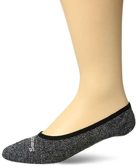 Smartwool hombres Premium de Marl No Show calcetines - SW003703, Negro