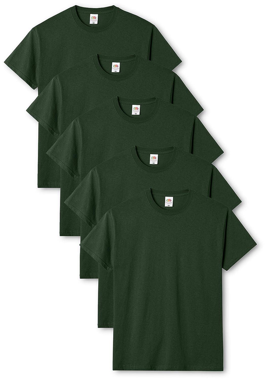 Fruit of the Loom Camiseta para Hombre Pack de 5
