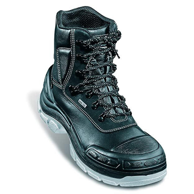 c886feec861 Uvex 8415/2 Quatro Black Gore-Tex Waterproof S3 Safety Boots
