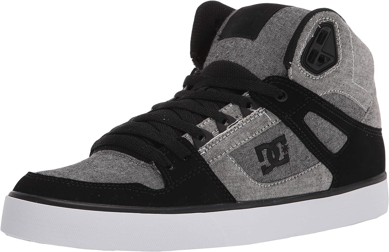 DC Mens Pure High-top Wc Skateboard Skate Shoe Skate Shoe