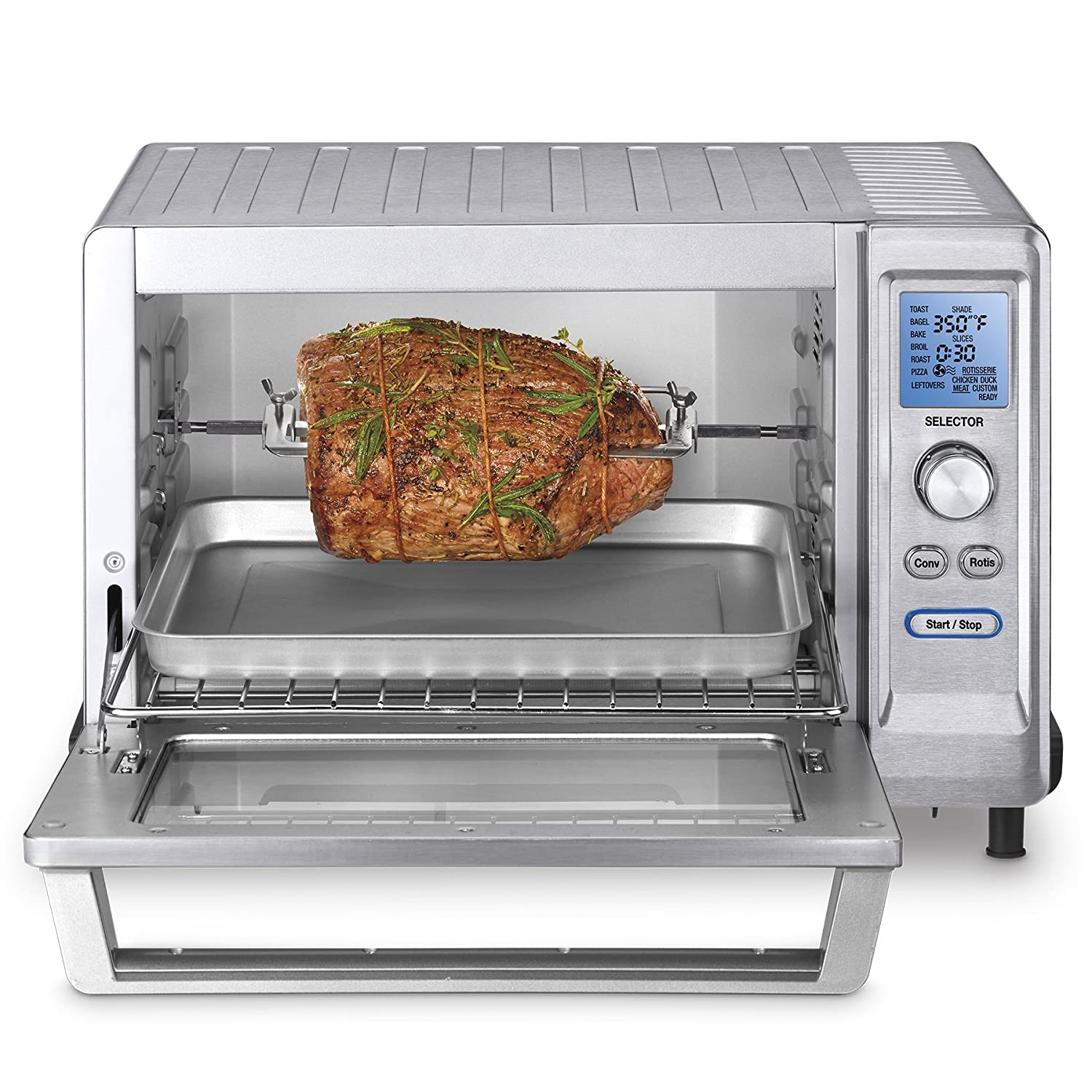 Convection Countertop Oven Stainless Steel : ... TOB-200 Rotisserie Convection Toaster Oven, Stainless Steel eBay