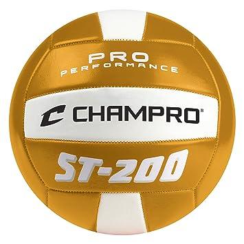 Champro Deportes ST-200 Pelota de Volley Playa, Color Dorado ...
