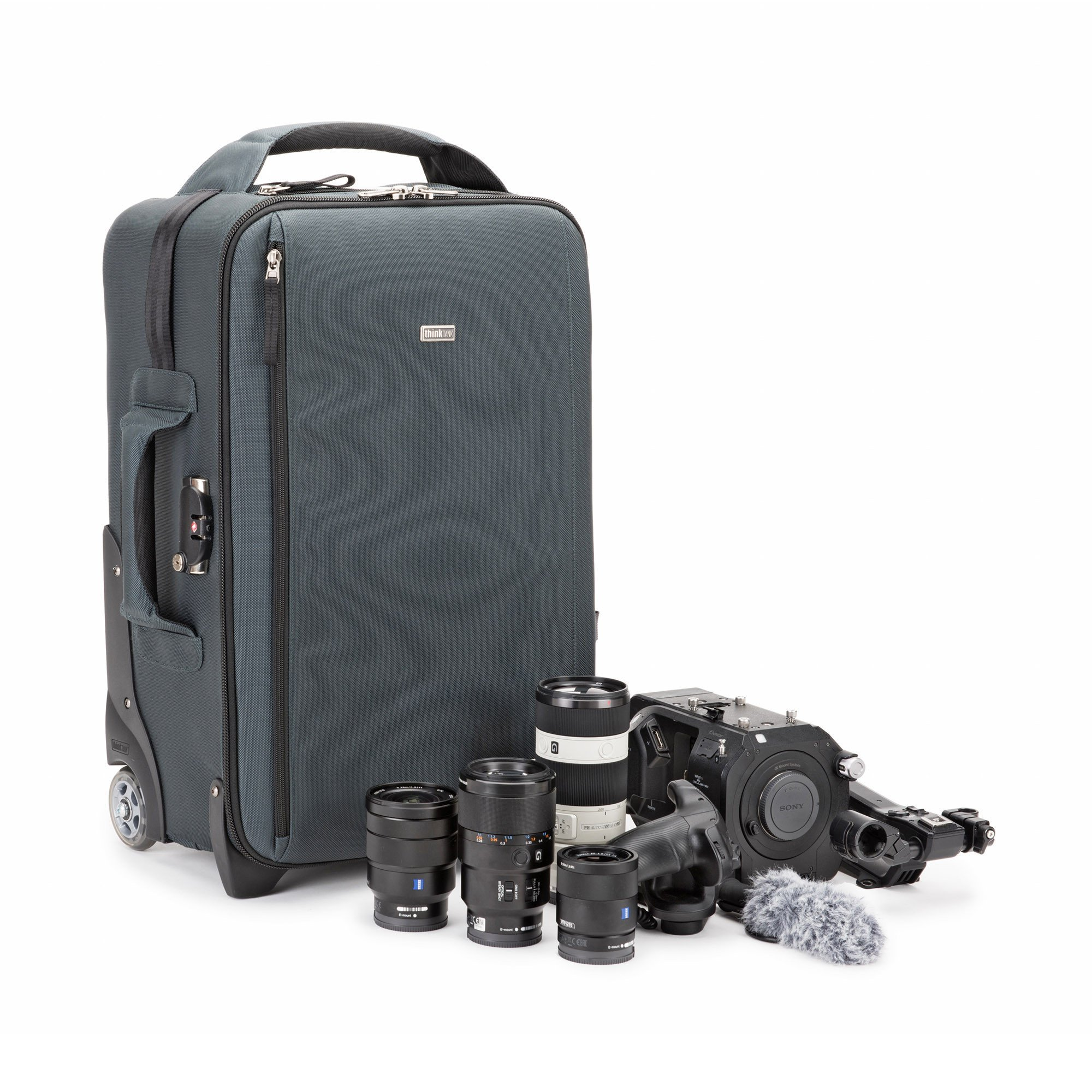 Think Tank Photo Video Transport 20 Carry-On Case (Pacific Slate) by Think Tank (Image #3)